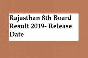 Rajasthan 8th Board Result 2019