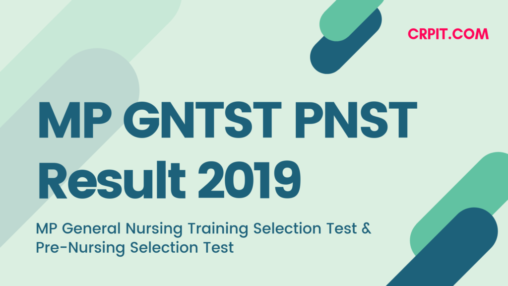 MP GNTST PNST Result 2019