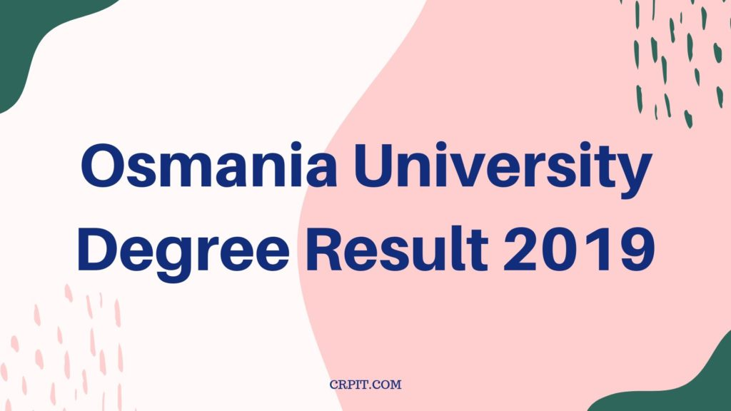OU degree result 2019
