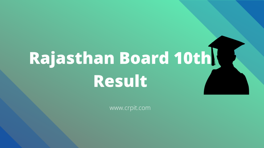 Rajasthan 10th Board Result